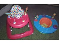 Baby walker & infant activity seat