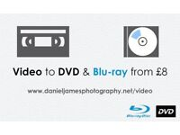 Video to DVD & Blu-ray Transfer