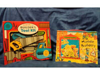 2 builders books - Great Christmas Present
