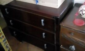 brown furniture chest of drawers upcycling
