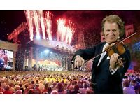 Andre Rieu 2 Concert Tickets with Dinner Maastricht Sat. 15th July 2017