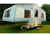 Dandy Designer Folding Camper + Awning - Trailer Tent