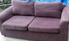 ikea purple sofa good cond £18