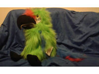 Puppet company Parrot. New with tags. Great Christmas present - Hand puppet toy