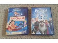 2 x childrens Disney dvds £5