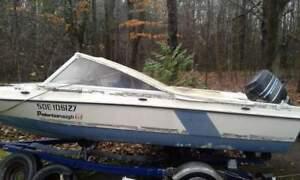 Boat,motor and trailer inclusive