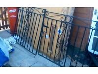 driveway gates 8ft 4 x 42 inches good cond £55