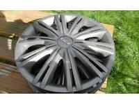 "13"" set of 4 wheel hub caps"