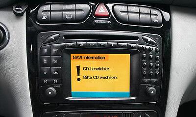 Reparatur Mercedes Comand 2.0 Navi CLK W209