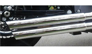 Vance Hines Muffler Heat Shields for Double Barrel Staggered