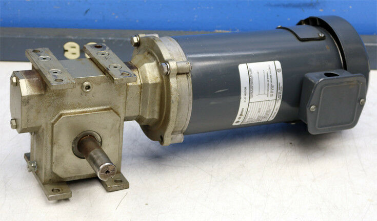 General Electric 5BPB56SAA43C DC Dual Shaft Speed Reducer SP20ZF-2 Gear Motor