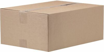 A5 C5 Packaging Box Postal Mailing Storage Brown 226 x 170 x 118mm Pk 10 7744253