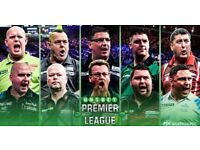 Premier League Darts - FACE - VALUE - 2 Table Tickets - Manchester Arena 26/4/18