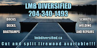 Spring Dock and Boat ramp service and install! Lac du Bonnet