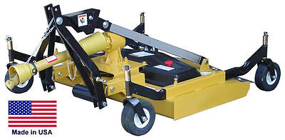 Finish Cut Mower Commercial - 3 Point Hitch Mounted - Pto Driven - 72 Cut
