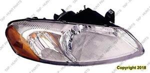 Head Lamp Driver Side Sebring Sedan/Convertible Chrysler Sebring 2001-2003