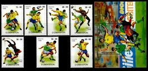 Fußball. 7W+Block. Usbekistan 1999