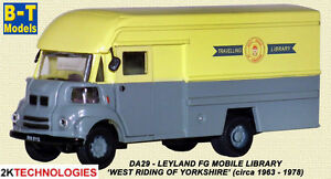 B-T-Models-DA-29-Leyland-FG-Mobile-Library-West-Riding-1-76th-Scale-New-Boxed
