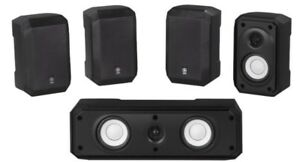 Yamaha Speakers & Subwoofer home theater system - NEW