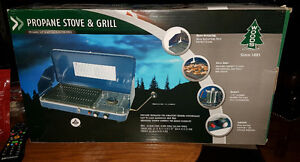Propane Stove and Grill