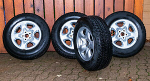 Winter tires & rims for Toyota RAV4