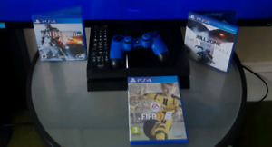 Ps4 bundles, games and controllers