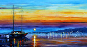 KVS-054, Brand New, Hand made (not printed) Oil painting