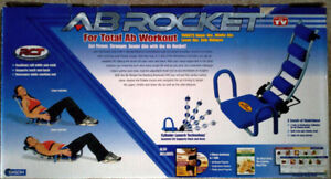 NEW Ab Rocket Abdominal Trainer, abs workout