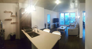 2 Bedrooms (4 1/2) Condo for rent - Griffintown + indoor parking