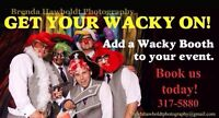 Get your wacky on with a professional photographer!