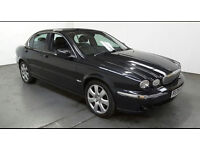 2006(06)JAGUAR X TYPE 2.0 DIESEL SE BLACK,BIG SPEC,LONG MOT,CLEAN CAR,GREAT VALUE!