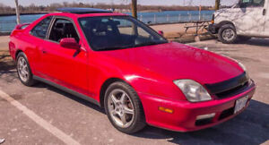Red 2001 Honda Prelude, Special Edition