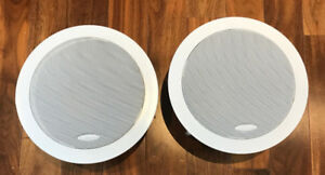 In-Wall, In-Ceiling Speakers, Round