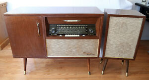 Vintage - Meuble audio Fleetwood - 1950