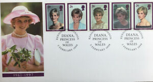 Princess Diana commemorative first-day issue stamp envelope