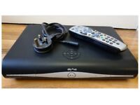 SKY + HD BOX NEARLY LIKE NEW WITH , REMOTE CONTROL,POWER CABLE, WITH HDMI CABLE
