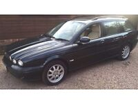 Jaguar x-type Diesel 2004 Estate Green Manual 1 Year MOT