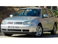 2001 Volkswagen Golf 2.0 GTI 5dr Manual Hatchback