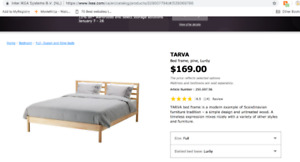 Double Bed for Sale w. frame!
