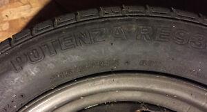 Bridgestone Potenza Tire and Rim 215/50R15 RE93 5x100 Kitchener / Waterloo Kitchener Area image 3