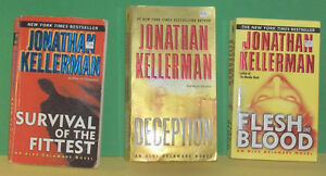 Lot of 3 Jonathan  Kellerman Paperback Pocket Novels