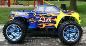 NEW RC MONSTER TRUCK  PRO BRUSHLESS ELECTRIC  1/10 Scale City of Toronto Toronto (GTA) image 2
