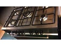 Delonghi 5 rings stove and oven combo
