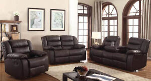 HUGE CASH AND CARRY RECLINER SET IN STOCK FOR 1199$ ONLY!!