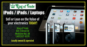 Sell or Loan on your Tablet TODAY! - King of Trade