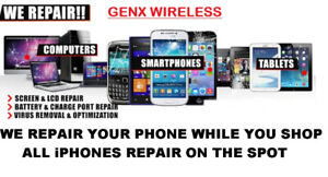 Cell Phone, Laptop Repairs And Unlocking