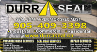 DURRASEAL - INTERLOCK, CONCRETE & ASPHALT SEALING
