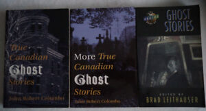 Lot of 3  True Canadian Ghost Stories Books