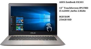 ASUS ZENBOOK better then MacBook with i5 or i7, 4K, FHD, Touch