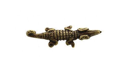 Pendant African Ashanti Tribale Crocodile Door Keys Bronze 5112